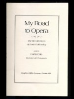 My Road to Opera (Signed copy)