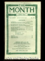 The Month Vol CLXXV, No. 910, April 1940