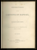 Expositions of the Cartoons of Raphael