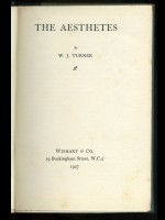 The Aesthetes