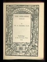 The Icelandic Sagas (Signed copy)