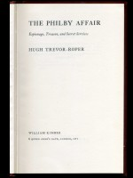 The Philby Affair, Espionage, Treason, and Secret Services