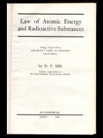 Law of Atomic Energy and Radioactive Substances