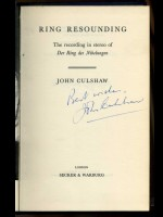 Ring Resounding (Signed copy)