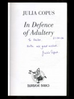 In Defence of Adultery (Signed copy)