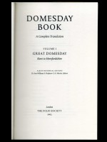 Domesday Book, A Complete Translation