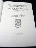 The National Library of Wales Journal, Volume XXV 1987/1988