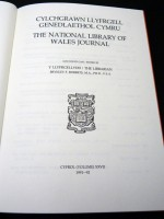 The National Library of Wales Journal, Volume XXVII 1991/1992