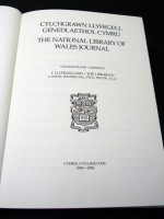 The National Library of Wales Journal, Volume XXIX 1995/1996