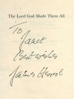 The Lord God Made Them All (Signed copy)