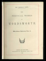 The Poetical Works of William Wordworth