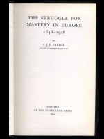 The Struggle for Mastery in Europe 1848–1918