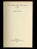 Voltaire and the Calas Case (Signed copy)