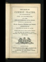 Common Prayer (1854), New Testament (1854) and Psalms (1855)
